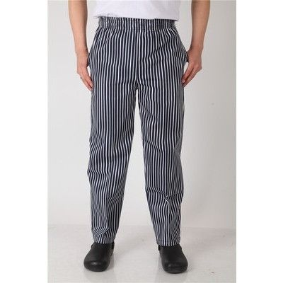 Chef Elastic Band Uniform Pant Restaurant Kitchenware