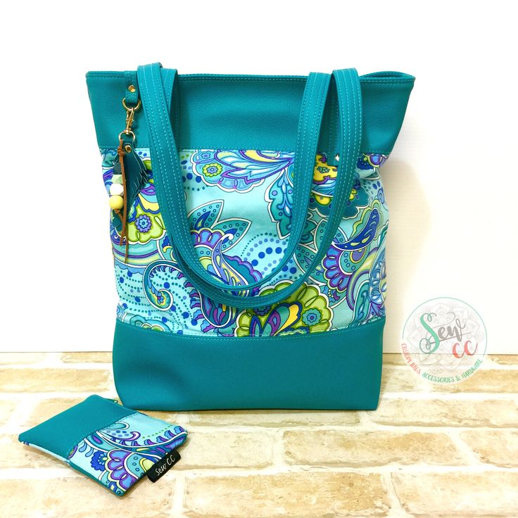 Custom made tote and coin purse