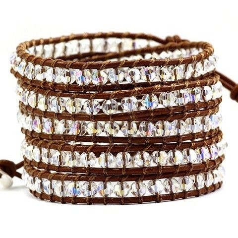 Crystal Ice wrap bracelet from Victoria Emerson