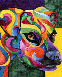 Boxer Dog Painting - Boxer by Sherry Shipley