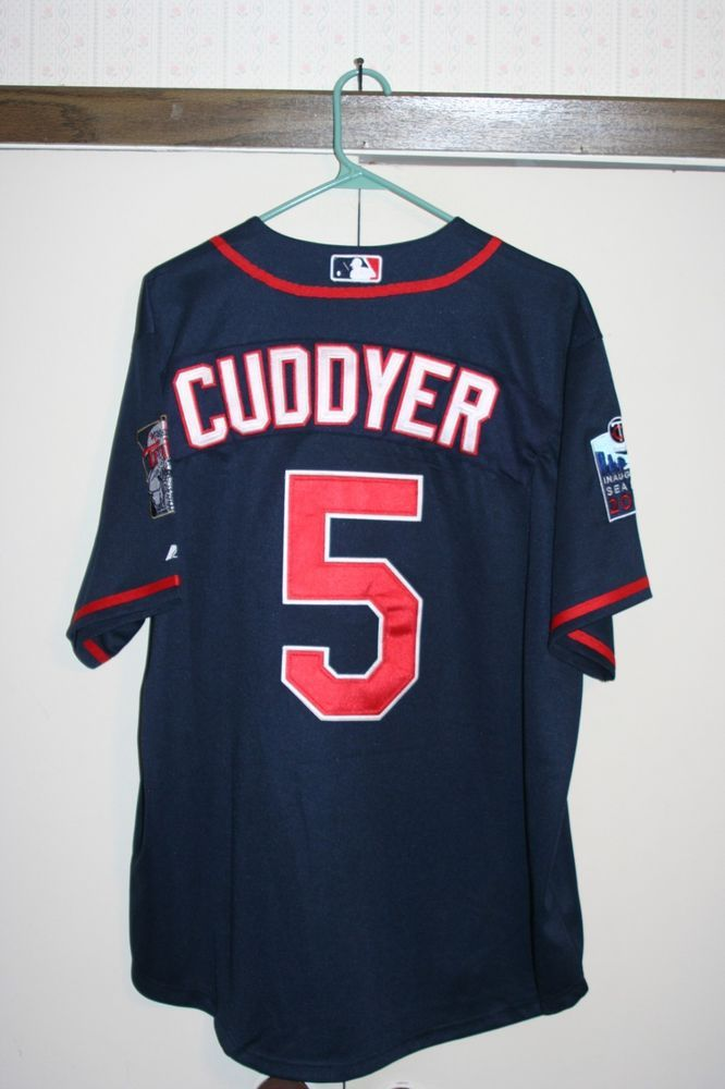 d3292e5d6af Majestic Minnesota Twins Cuddyer  5 Sewn Baseball Jersey Men 44 Large MLB  NEW