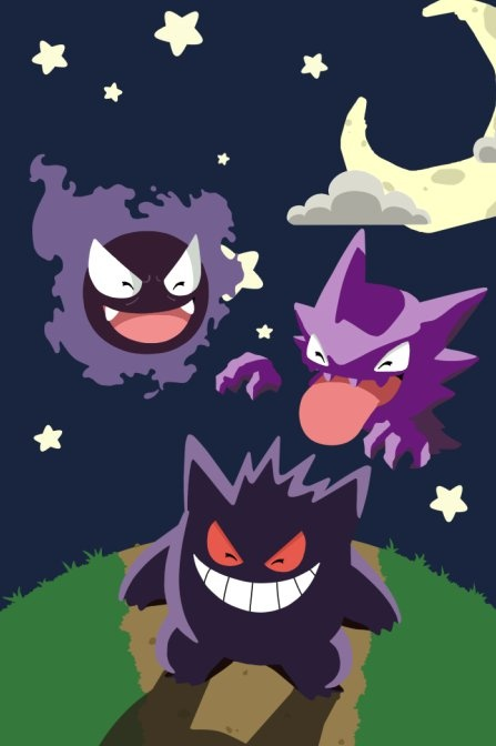 Pokemon Haunter, done by #Ciana Jordan