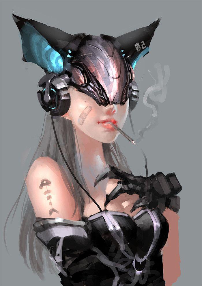 Cyberpunk | Catwoman