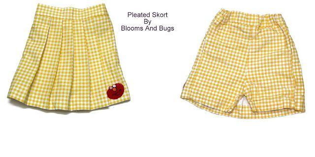DIY Skort (Skirt + Shorts) with FREE Sewing Tutorial