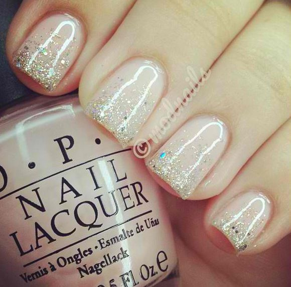 Classy nail sparkle
