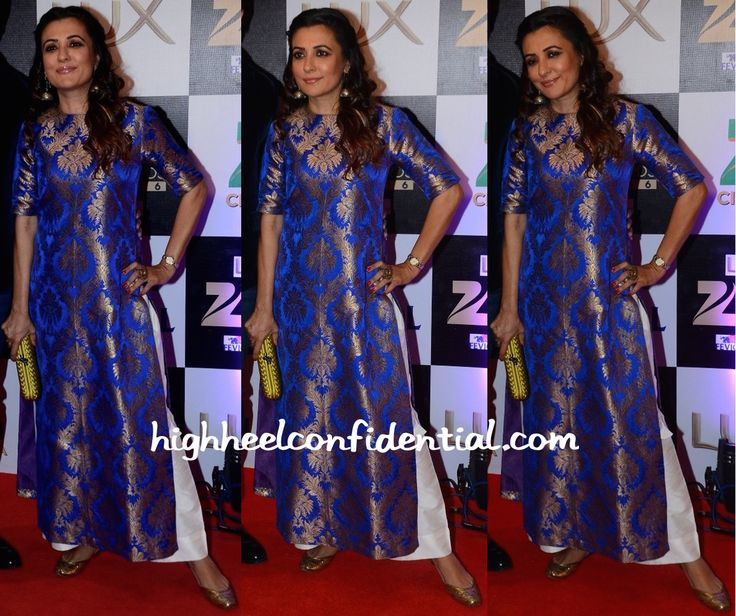Mini Mathur In Payal Khandwala At Zee Cine Awards 2016
