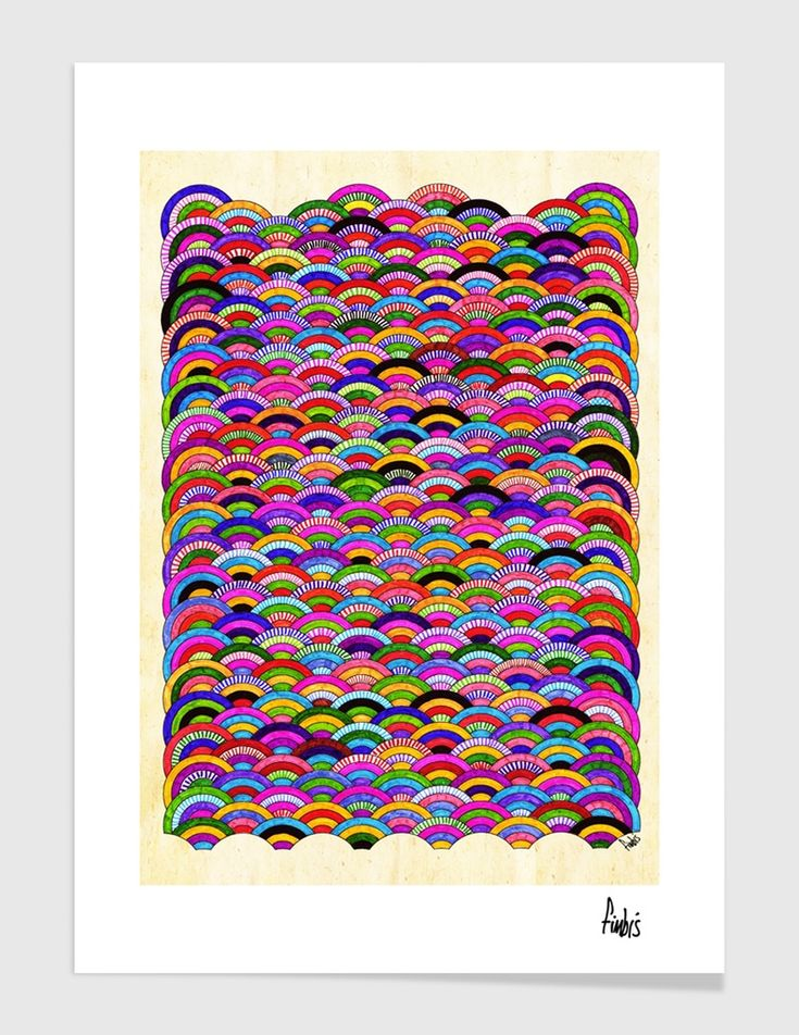 """A Good Day"", Numbered Edition Fine Art Print by Fimbis - From $25.00 - Curioos  #fimbis #Curioos #abstract #colourful #colorful #style #styleblog #fashion #fashionblogger #fashionblog #styleblogger #rainbow #designer #blue #red #inspire #inspiration #vibrant #interior #inspirational #fblogger #collage #homedecor #homestyle #wallart"