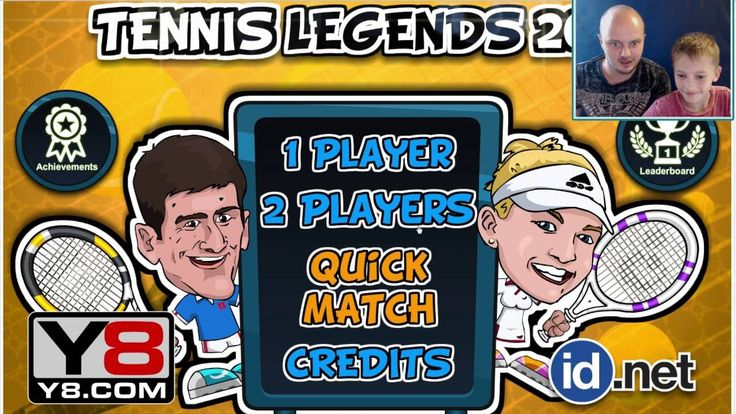 Легенды тенниса ☻ Tennis Legends 2016