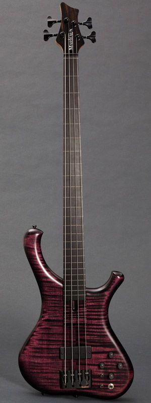 MARLEAUX   Consat Custom 4 String Fretless Bass Guitar
