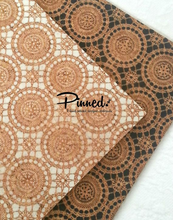 Lace design pinboard Morrocan hand painted cork board by pinnednz #pinboard #corkboard #lace #moroccan #bedroom #deskinspo #inspiration http://binaryoptions360review.com/