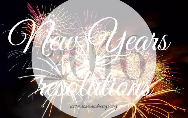A list of easy, simple and obtainable New Years resolutions!