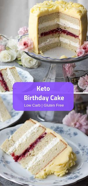 Keto Geburtstagstorte #cakerecipes #ketorecipes   – Crafts