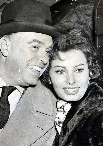 Iconic weddings: Sophia Loren and Carlo Ponti