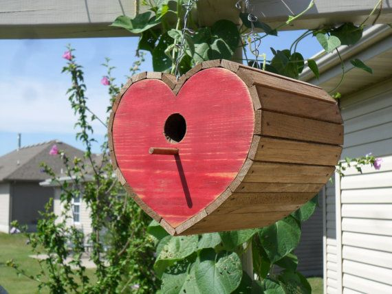 Heart Birdhouse