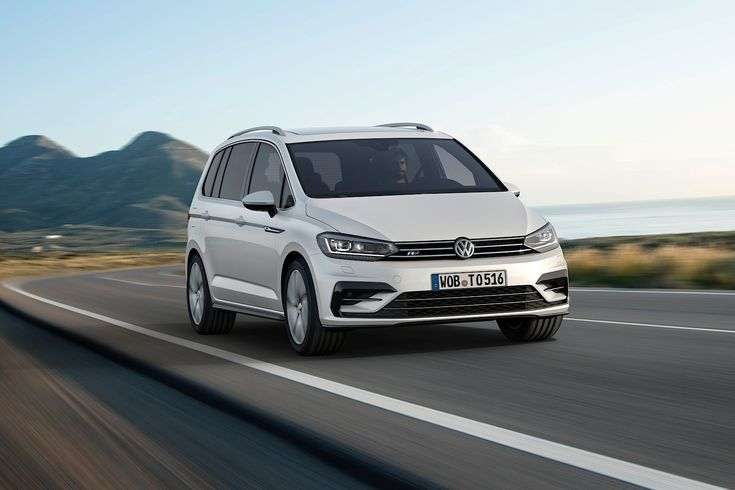 2016 Volkswagen Touran R-Line Package Launched in Germany - Photo Gallery