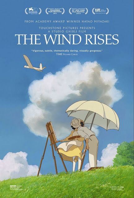 Walt Disney Studios 2014 Motion Pictures Movie Slate February 28, 2014 – The Wind Rises (Touchstone Pictures / Studio Ghibli)