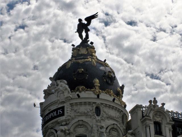 Mariposa w drodze - blog o podróżach: MADRYT - SPÓJRZ NA DOMY