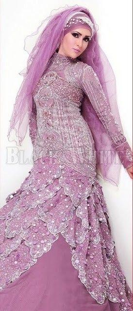 violet...Hijab Bride