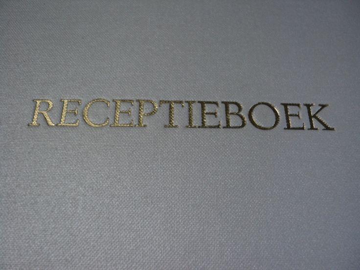 Linnen gastenboek voor een receptie boek huwelijk receptieboek kopen -