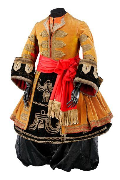 Kostuum voor een negerlakei in de Slapende Prinses / Kostuumontwerp: Léon Bakst (1866-1924).