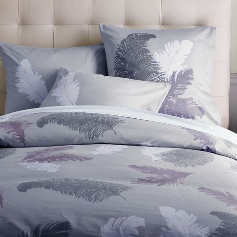Tossed Feather Duvet Cover   west elm: Bedrooms Beautiful, Duvet Covers, Covers Westelm, Beautiful Bedspreads, Feathers Beds, Bedrooms Inspiration, Bedrooms Decor, Bedrooms Wall, Bedrooms Ideas