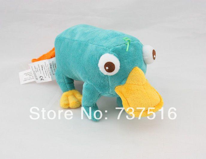 Чучела животных и плюшевые финес и ферб перри утконос фаршированные плюшевые 11  игрушки куклы