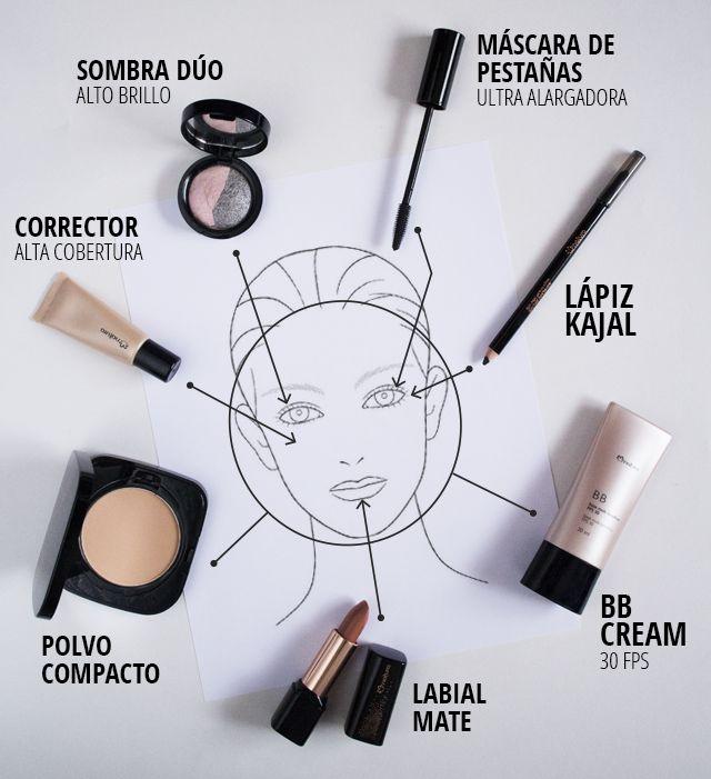 Maquillaje natural con la BB Cream de Natura UNA