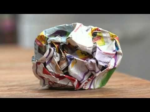 """Témoignage d'un papier - """"J'ai vécu tant de vies"""" - YouTube (pour parler du recyclage)"""