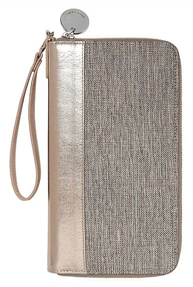 Cassie Travel Wallet #witcherywishlist storing all those travel essentials in a neutral pouch to complement any outfit