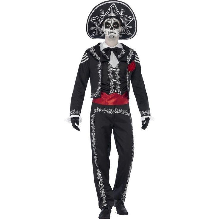 disfraz de la muerte mexicana para halloween