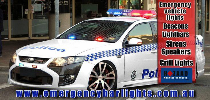Hazard Warning Concepts emergency vehicle light suppliers Australia