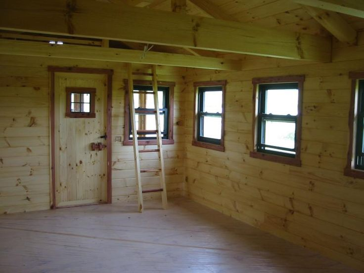 Hunting Cabin Interior Do It Yourself Hunting Cabins: Trophy Amish Cabins, LLC