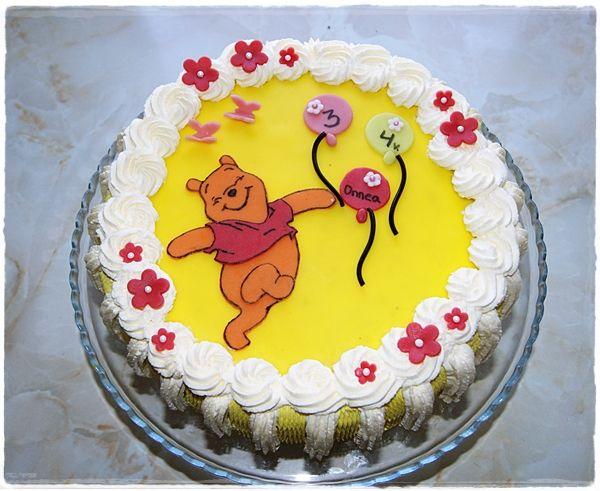 Nalle Puh kakku / Winnie the Puh cake