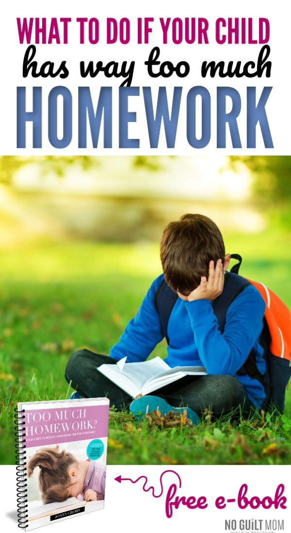 do kids have too much homework
