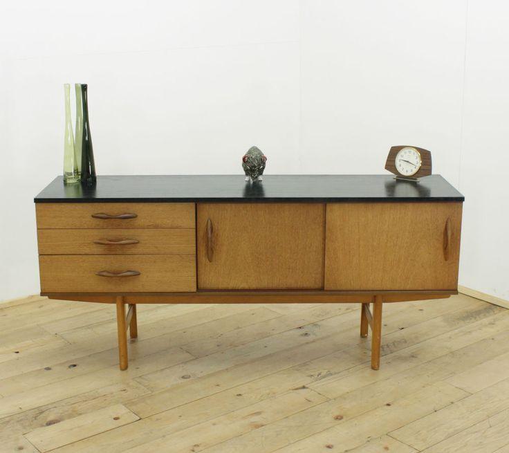 Avalon Teak Retro Sideboard 60s 70s Danish Style Vintage Mid Century