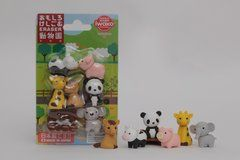 Iwako Zoo Animals - Blister Pack