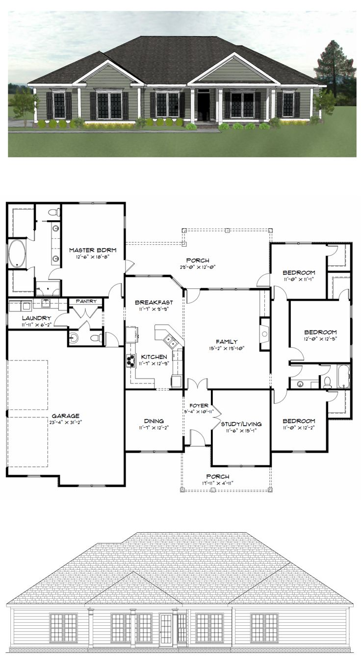 Purchase House Plans 17 Best House Plans 20002800 Sq Ft Images On Pinterest  Square .