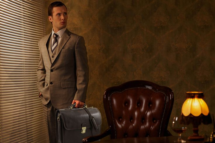 Leather Briefcase loaded with style, for the astute professional will make an impression.