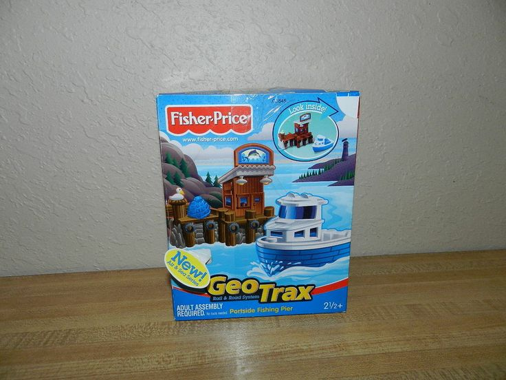 53 best geotrax like you mean it images on pinterest for Fisher price fishing pole