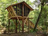 Camp in a treehouse for $20 a night! Camp Chowenwaw Park near Jacksonville, Florida
