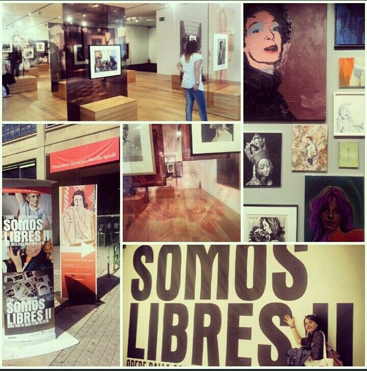 """La mostra """"Somos Libres II """" scoperta  durante il Blogger day alla Pinacoteca Giovanni e Marella Agnelli a Torino. #gioiadarte #colore #cosebelle #liberaCultura #mostre"""