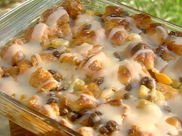 GET THIS!!!!  KRISPY KREME BREAD PUDDING with Butter Rum Sauce !! O MY DELICIOUS WORD!!!  That makes my heart sing! FOR THE RECIPE, click this LINK:  http://www.foodnetwork.com/recipes/paula-deen/bill-nicholsons-krispy-kreme-bread-pudding-with-butter-rum-sauce-recipe/index.html