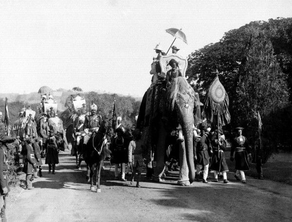 Edward Prince of Wales in India 1921