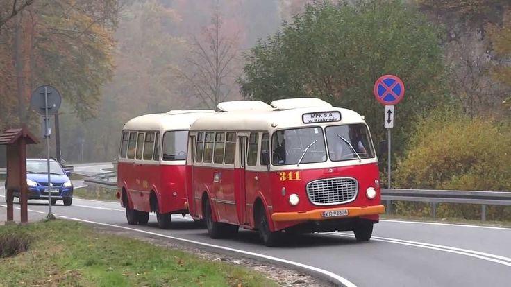 Jelcz 272 MEX + przyczepa Jelcz P01 z MPK Kraków