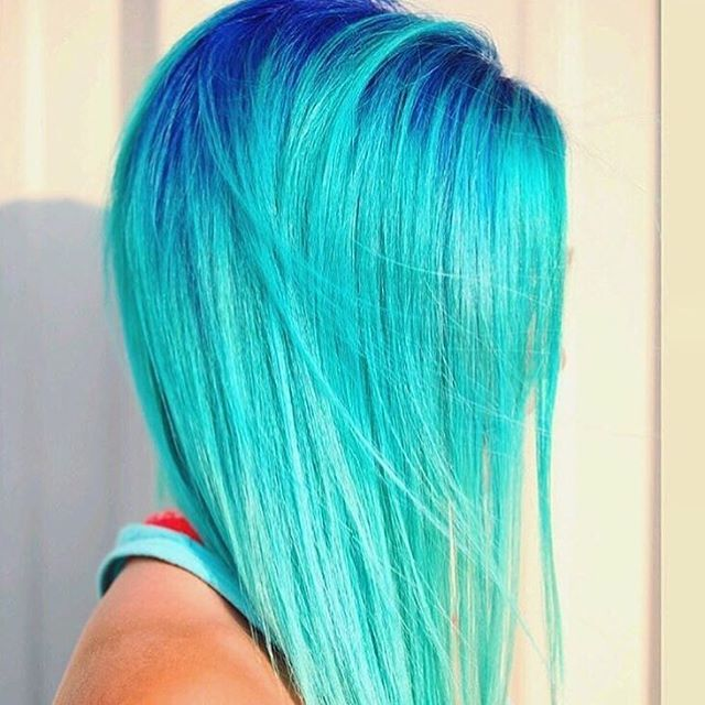 Mermaid hair @hairgod_zito #inspirehairstyles