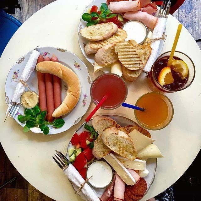 7 mennyei reggelizőhely a hét minden napjára