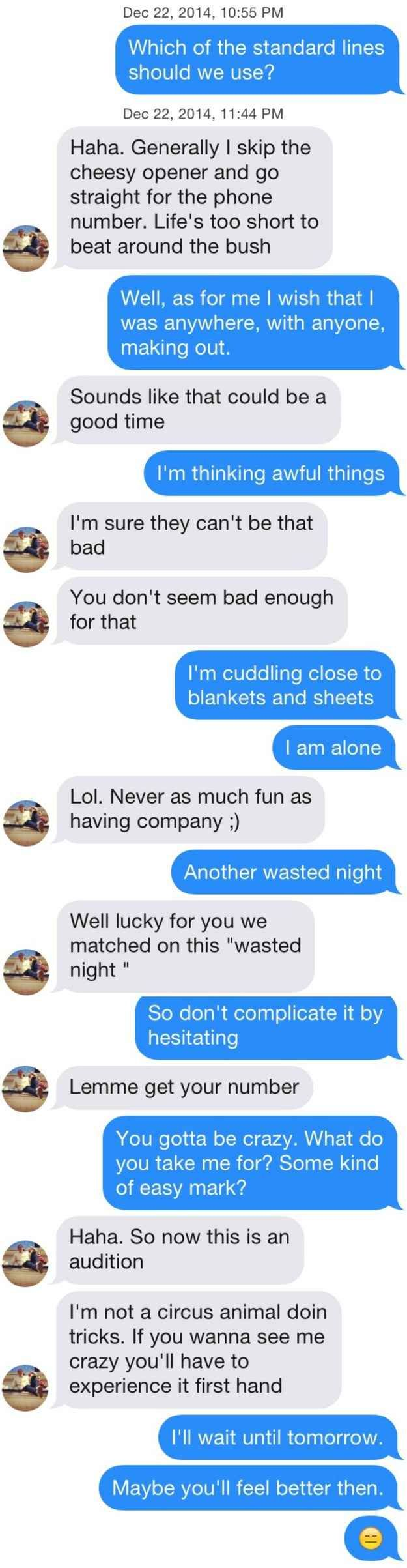 This Is What Happens When You Message Guys On Tinder With Dashboard ConfessionalLyrics