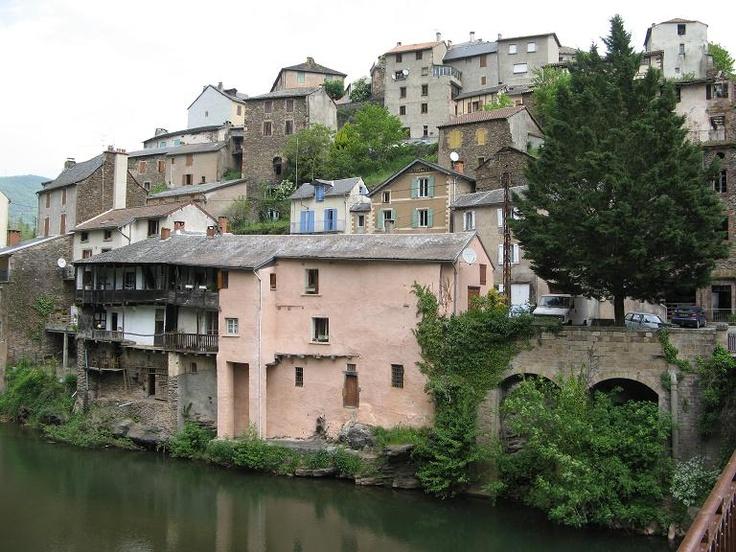 Saint Sernin sur Rance / Midi-Pyrenees / Aveyron .