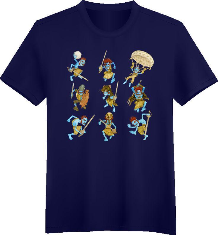 A Frenzy of Feegles t-shirt ~ Discworld.com