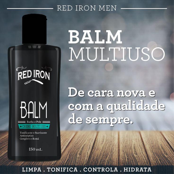 O Balm é um produto para cuidados com a barba adstringente, antisséptico e tônico, perfeito para quem busca uma pele suave e a barba alinhada! #redironmen #haircuts #hair #hairstyle #barbershop #barba #barbeariabrasil #balmredironmen #barboterapia #barbados #Barbershopconnect #barber #barbersfade #bestestbarber #menshair #HairMenStyle #thebarberpost #barbersinctv